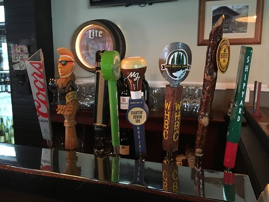 Schenectady, NY: Menu and current draft selection