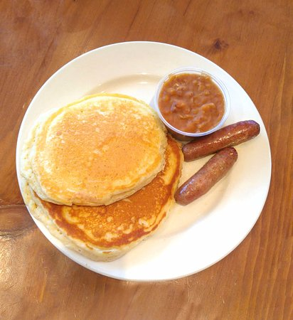 Lanark, Kanada: sugar bush pancake breakfast