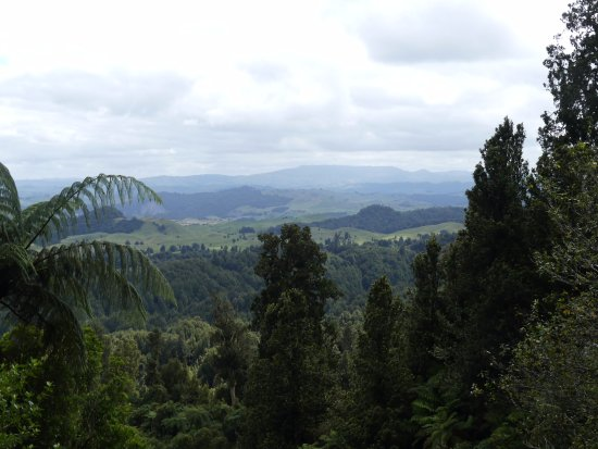 Tongariro National Park, New Zealand: View from the trail