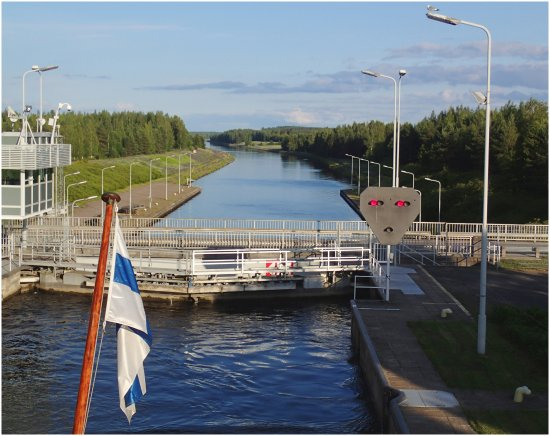 Eastern Finland, Finland: Сайменский канал