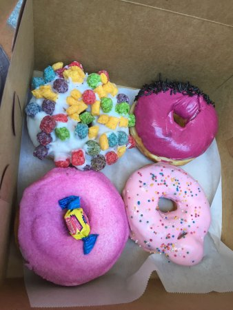 Photo of American Restaurant Voodoo Doughnut at 22 Sw 3rd Ave, Portland, OR 97204, United States