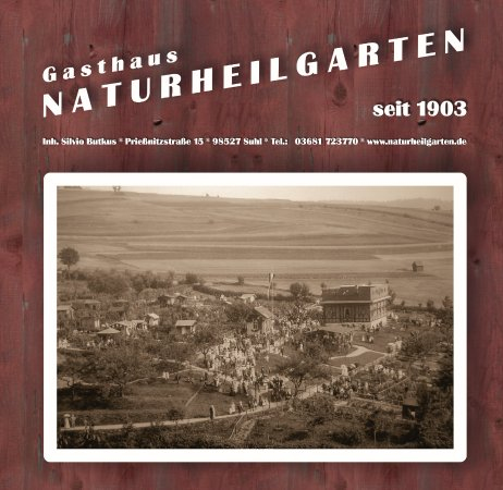 Suhl, Deutschland: Gasthaus Naturheilgarten, 1903