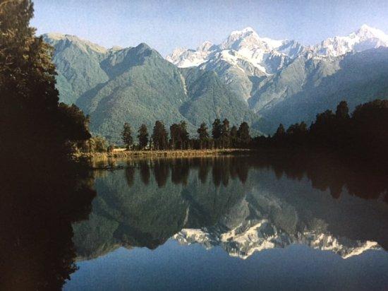 Franz Josef, Nieuw-Zeeland: View from Peter's pond
