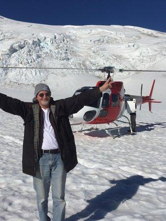 Franz Josef, Nieuw-Zeeland: I beat the bad weather