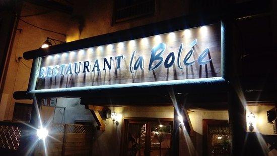 Guillestre, Francia: La Bolee