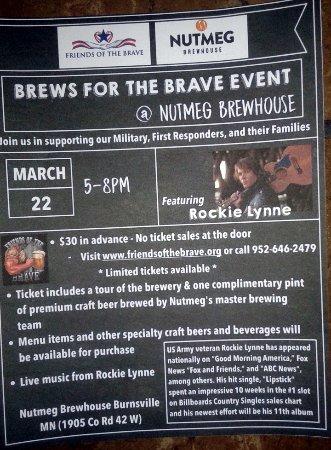 Burnsville, MN: Brews for the Brave Event