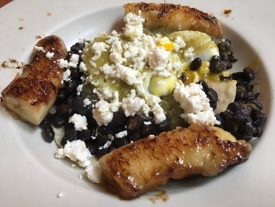 Mexican breakfast with grilled bananas - Picture of JoAnn's