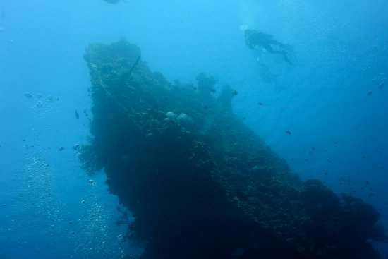 Tulamben, Indonesia: liberty wreck