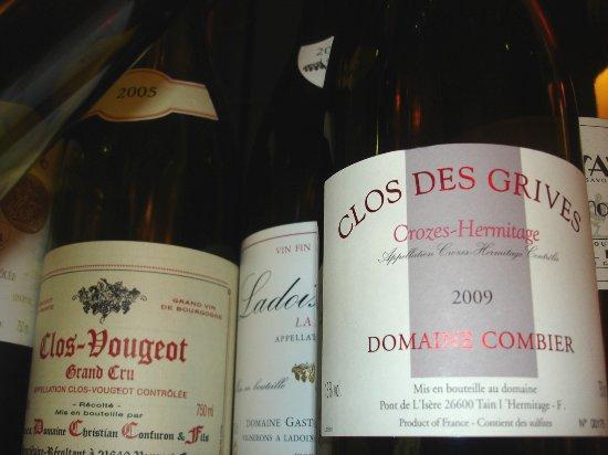 Saint-Jean-de-Maurienne, فرنسا: Les vins, notre meilleur vecteur de communication et de partage
