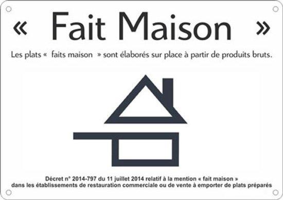 """Saint-Jean-de-Maurienne, فرنسا: """"Fait maison"""", cuisiné sur place à base de produits bruts et pain aussi !"""
