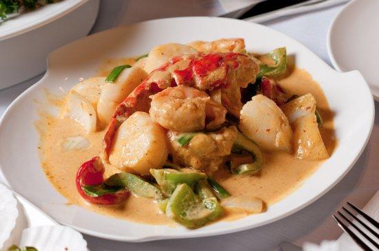 Marietta, GA: Curry seafood
