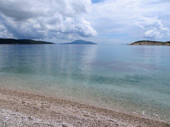 Martinscica, Croatia: Location fantastica e cibo ok