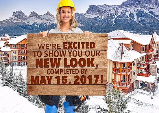 Falcon Crest Lodge: Currently Under Refurbishment completion date May 15th 2017