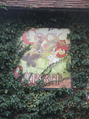 Great Missenden, UK: pub sign