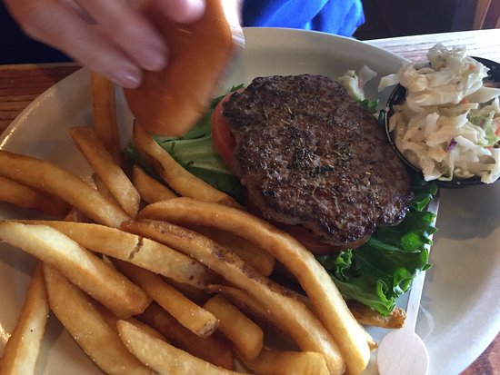 Lady Lake, FL: burger plate