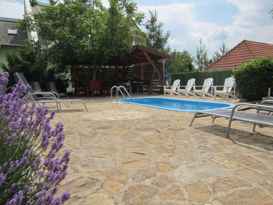 Overdekte Zithoek Tuin : Klein zwembad in de tuin picture of b b belysium gyenesdias