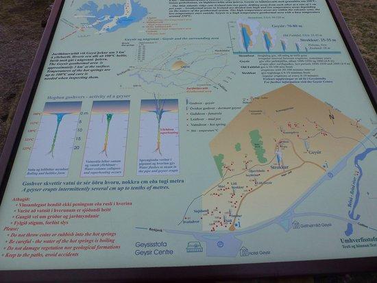Selfoss, IJsland: The Geysir site.