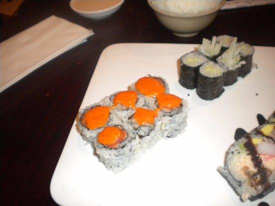 Oxford, MS: Salmon & cucumber rolls