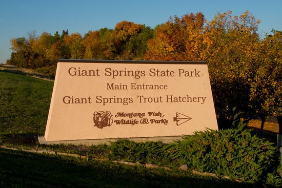 Giant Springs State Park: Fall