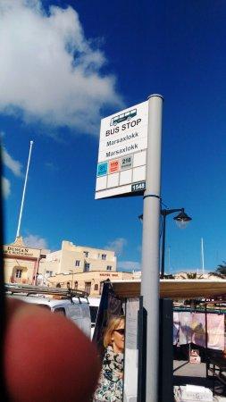 Marsaxlokk, Malta: linee autobus