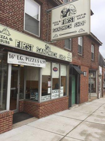 First Sandwich Shop