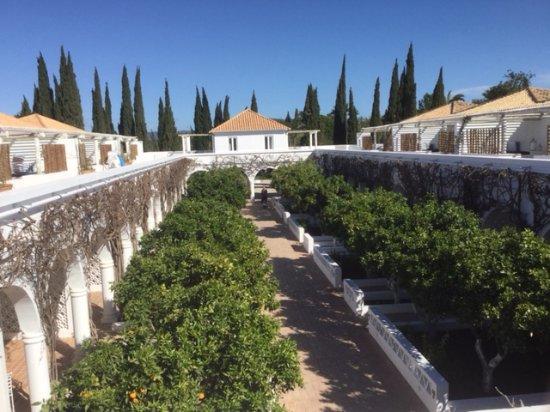 Moncarapacho, Portugal: the junior suite hotel block
