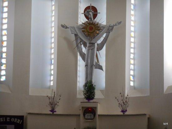 Sao Leopoldo, RS: PADRE REUS: interior do santuário