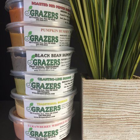 Kent, Ohio: Hummus in a wide variety of flavors - Made fresh daily! 