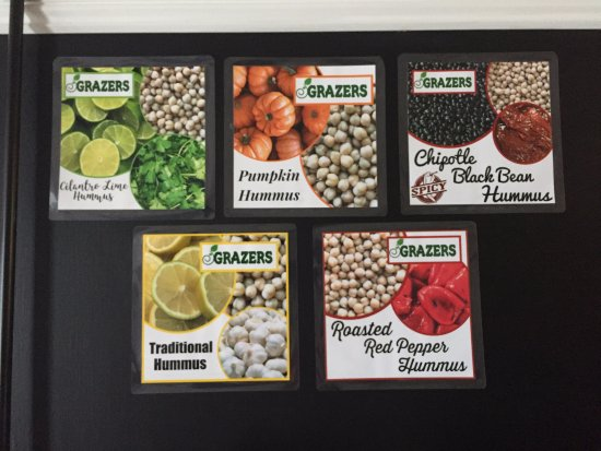 Kent, OH: 5 or more Hummus Flavors available daily!