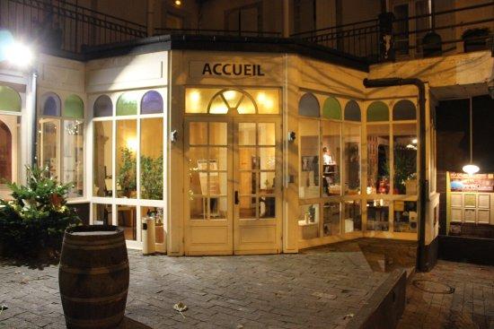 Lacaune, France: l'entrée