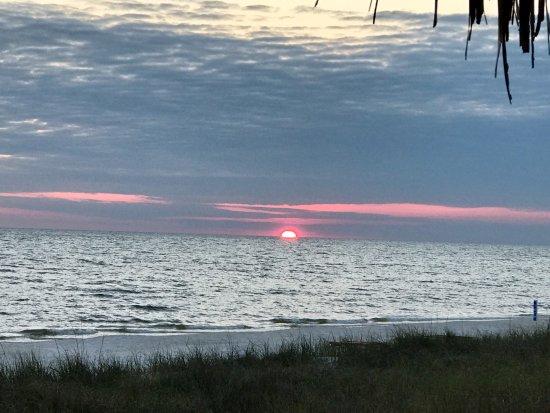 Gulf View Motel : Our beautiful sunsets.