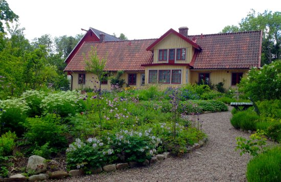 Perstorp, Sweden: The garden