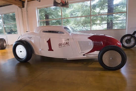 Scotts Valley, CA: Highly modded car in Canepa museum