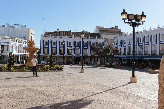 Valdepenas, España: plaza de españa