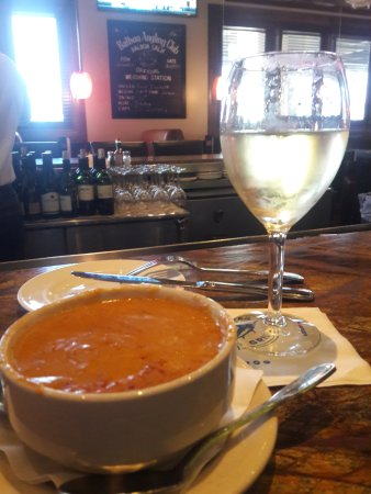 Tustin, CA: House White Wine & Lobster Bisque A Perfect Pair