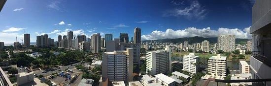 Ambassador Hotel Waikiki: View from the top floor