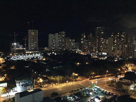 Ambassador Hotel Waikiki: View from the top floor