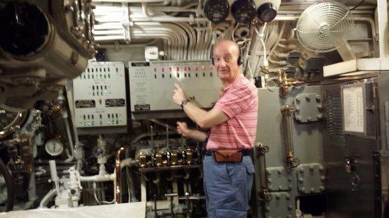 USS Bowfin Submarine Museum & Park: USS Bowfin Controls