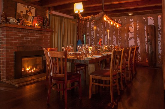 Big Indian, NY: private dining room