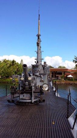 USS Bowfin Submarine Museum & Park: USS Bowfin Gun