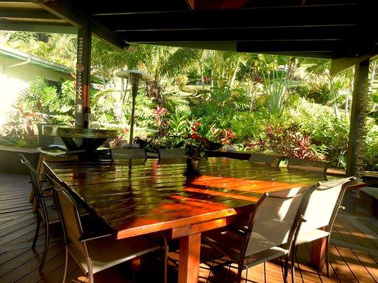 Kalani Hawaii Private Lodging: Lanai