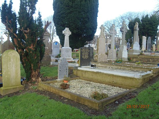 County Louth, Irlanda: The crosses in the cemetery