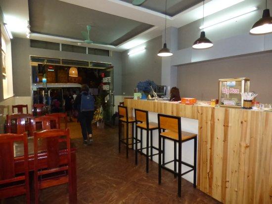 Lao Cai, Vietnam: le bar
