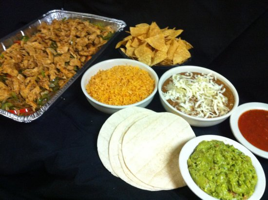 Upland, CA: Fajitas Party Platter available anytime for your get together!