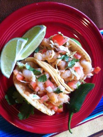 Upland, CA: Lobster Tacos