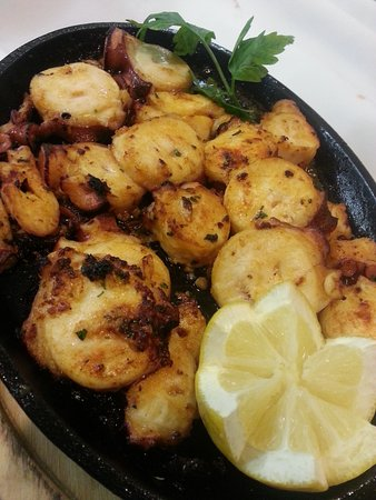 Williston Park, Estado de Nueva York: Grilled Pulpo Plancha
