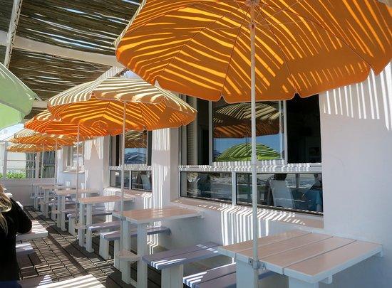 Yzerfontein, Sudáfrica: Terrasse Restaurant