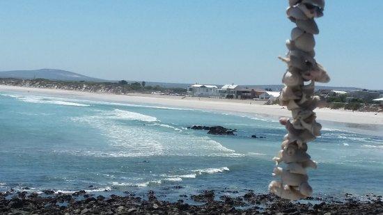 Yzerfontein, Sudáfrica: Blick von Terrasse