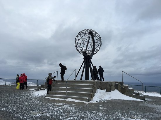 ‪‪Northern Norway‬, النرويج: North Cape's sphere, great spot for photos.‬
