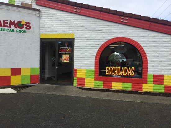 Lakewood, Etat de Washington : Memo's Mexican Restaurant